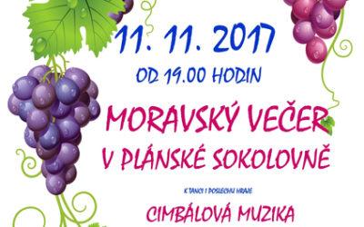 Moravský večer s Cimbálovkou Josefa Marečka